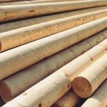 Опора ЛЭП деревянная 11,0 м